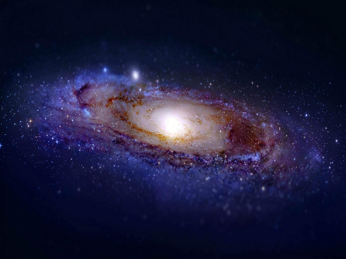 Andromeda Galaxy for 1152 x 864 resolution