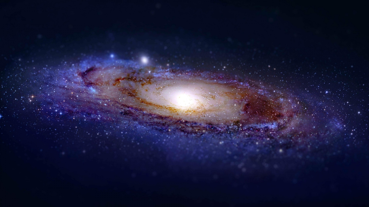 Andromeda Galaxy for 1280 x 720 HDTV 720p resolution
