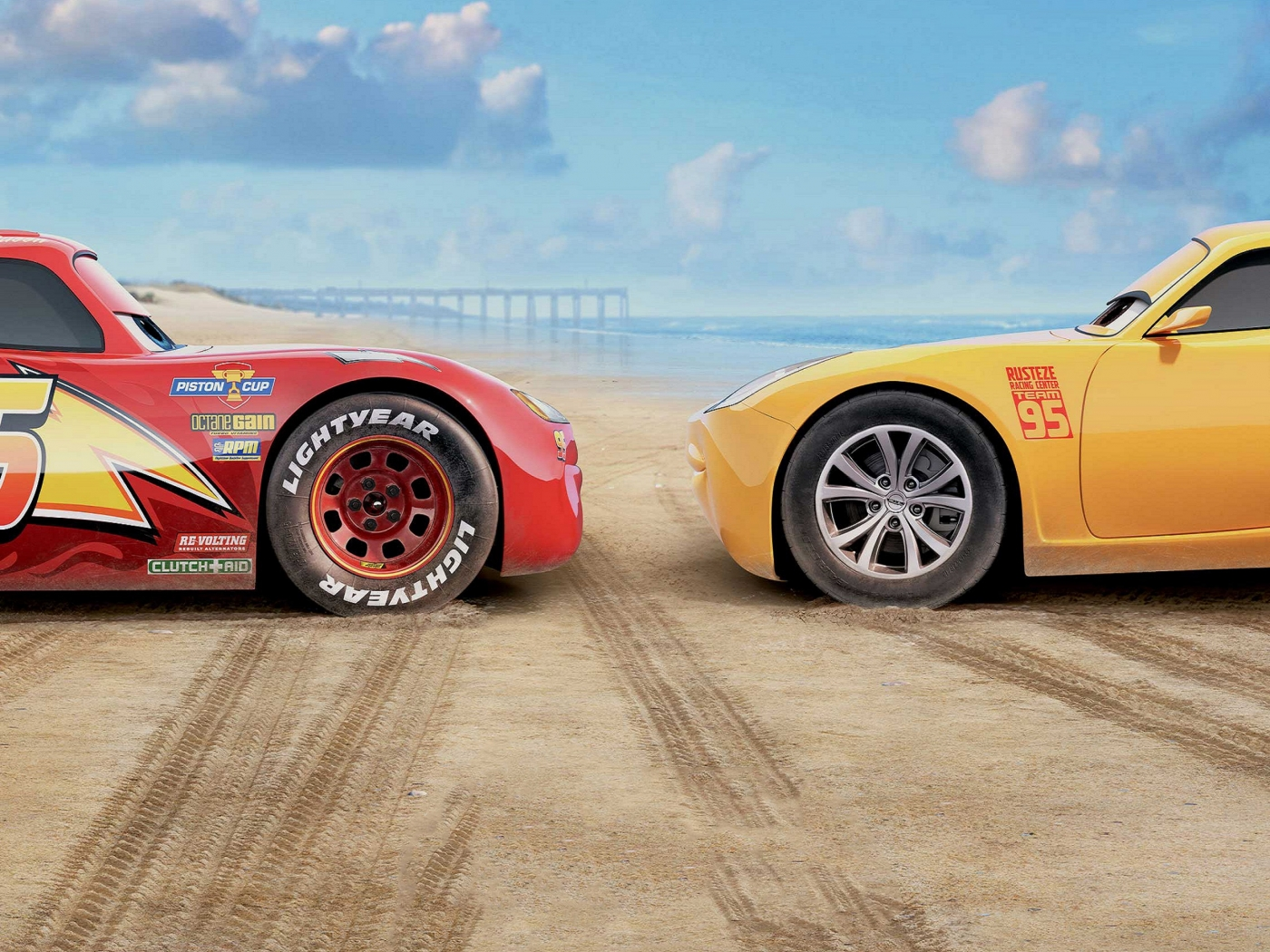 Cars 3 Movie 2017 for 1400 x 1050 resolution