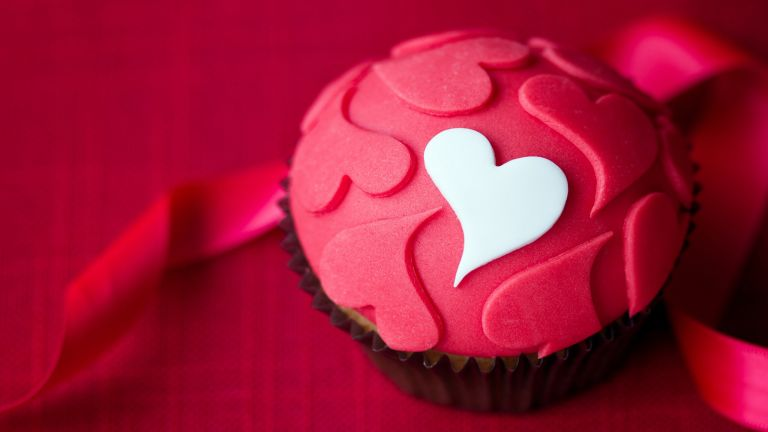 Love Cupcake HD Wallpaper