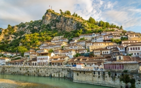 Berat City Albania Wallpaper