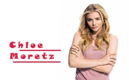 Chloe Grace Moretz Cool Look Wallpaper