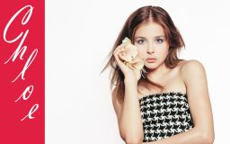 Chloe Grace Moretz Looking Cute Wallpaper