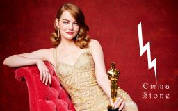 Emma Stone Oscar Winner Wallpaper