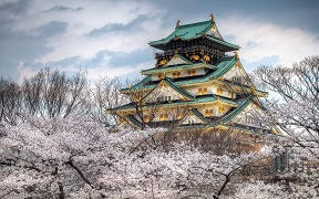 Osaka Castle Japan Wallpaper
